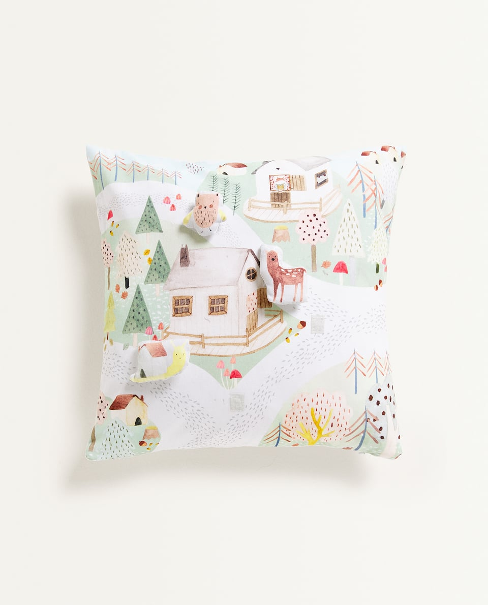 INTERACTIVE CUSHION COVER