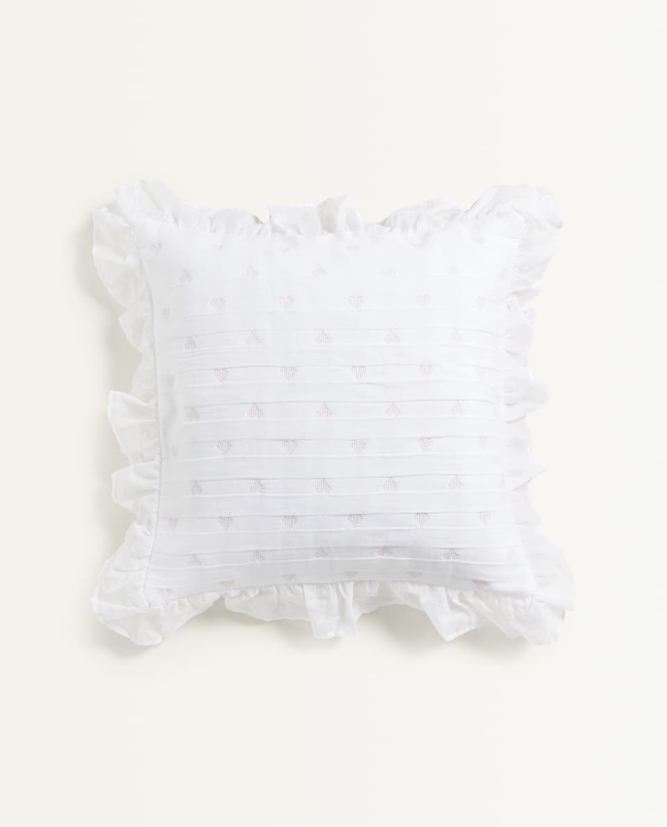 HEART CUSHION COVER