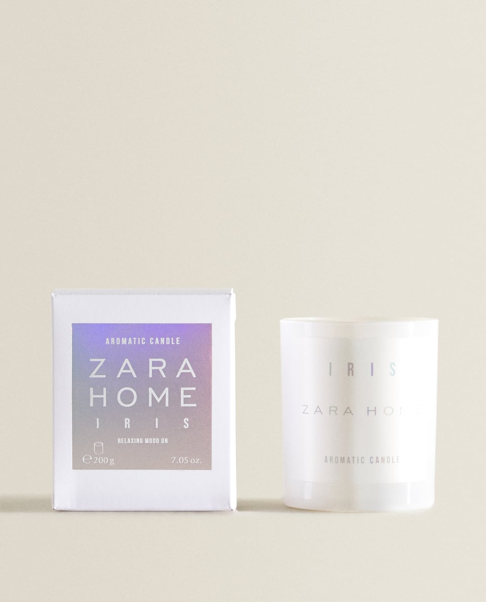 IRIS SCENTED CANDLE