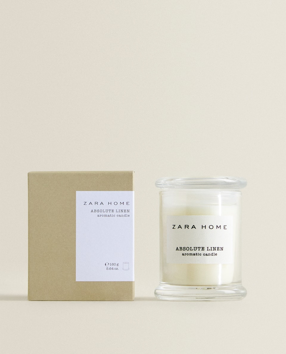 ABSOLUTE LINEN SCENTED CANDLE
