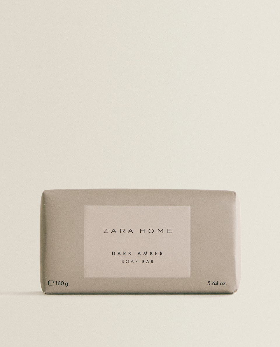 DARK AMBER SOAP BAR