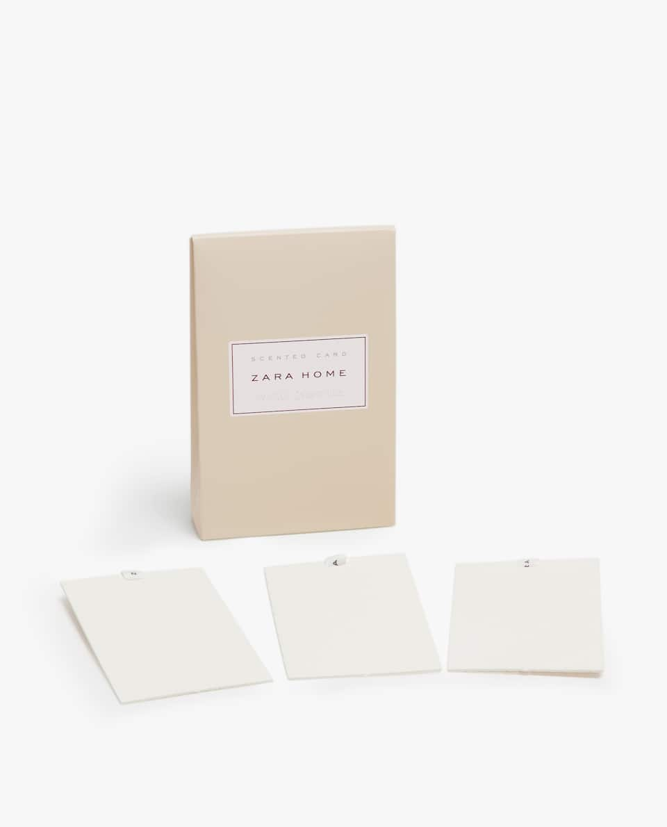 WHITE JASMINE SCENTED CARDS