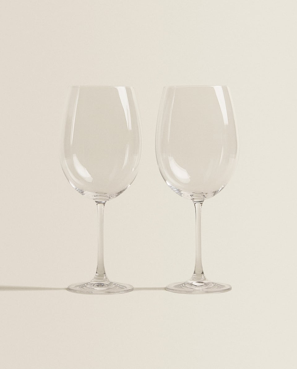 CRYSTALLINE BORDEAUX WINE GLASS (PACK OF 2)