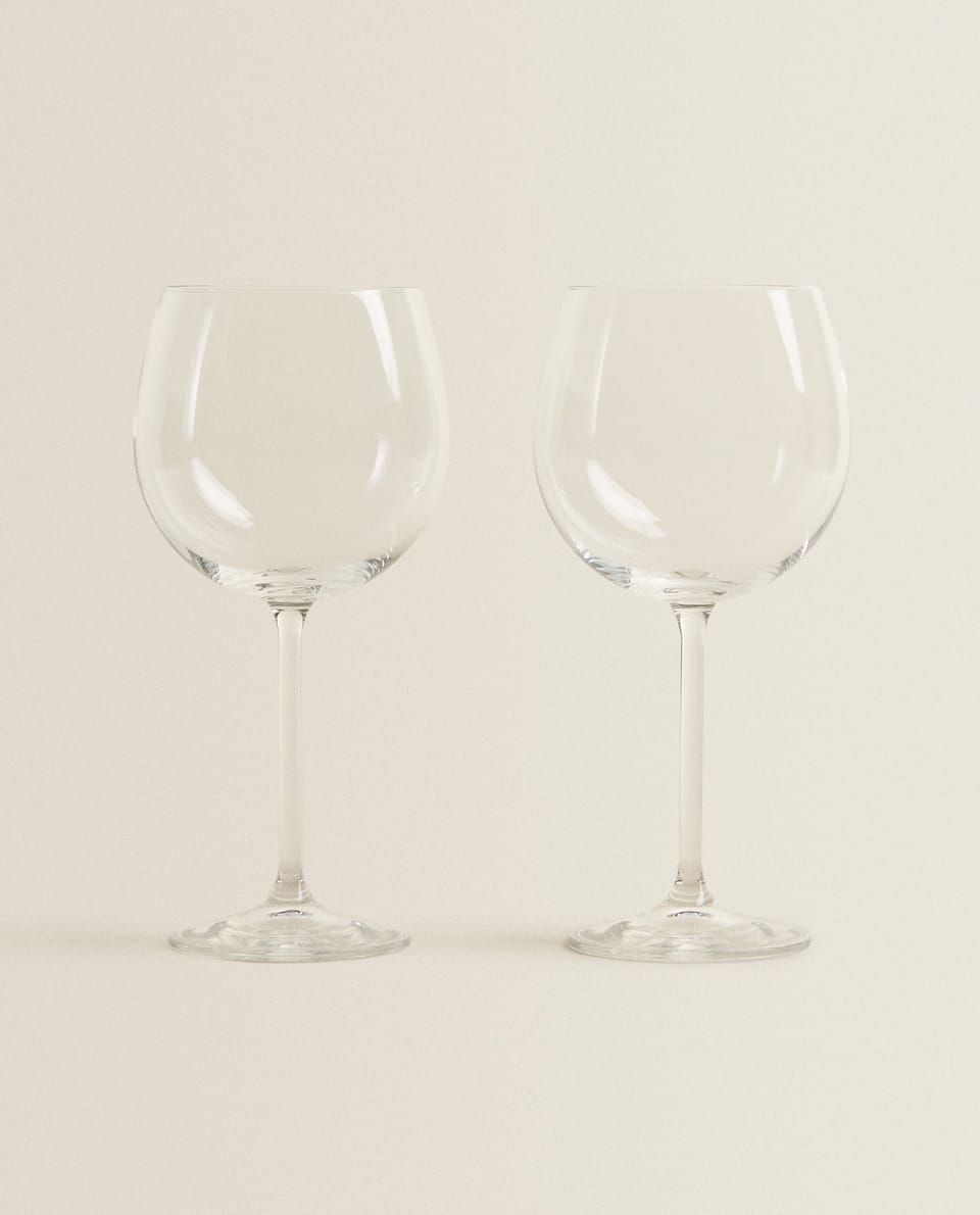 CRYSTALLINE BORDEAUX WINE GLASS (SET OF 2)