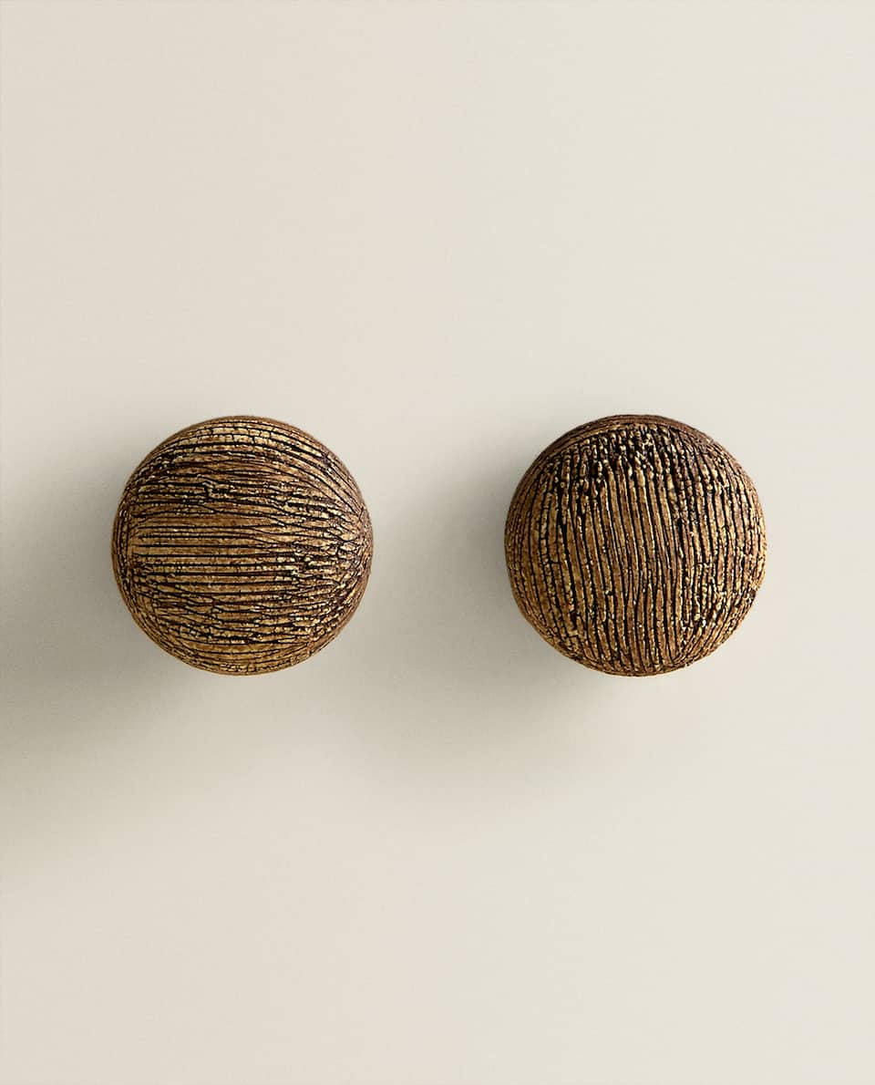 WOODEN TREE TRUNK-EFFECT DOOR KNOB