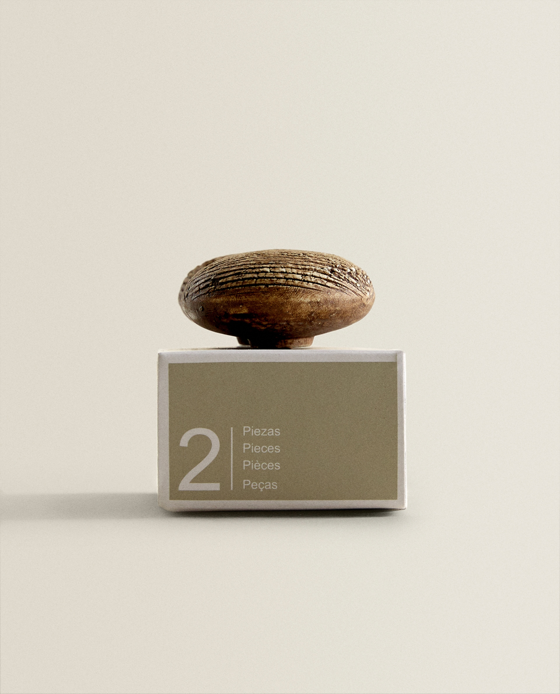 Wooden Tree Trunk Effect Door Knob Decoration Living Room Sale Zara Home Estonia