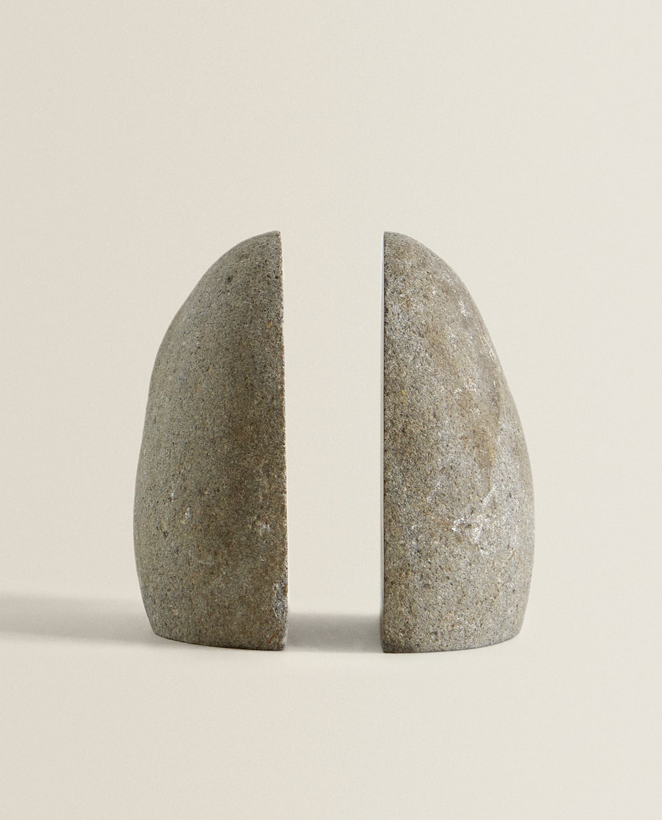 RIVER STONE BOOKEND