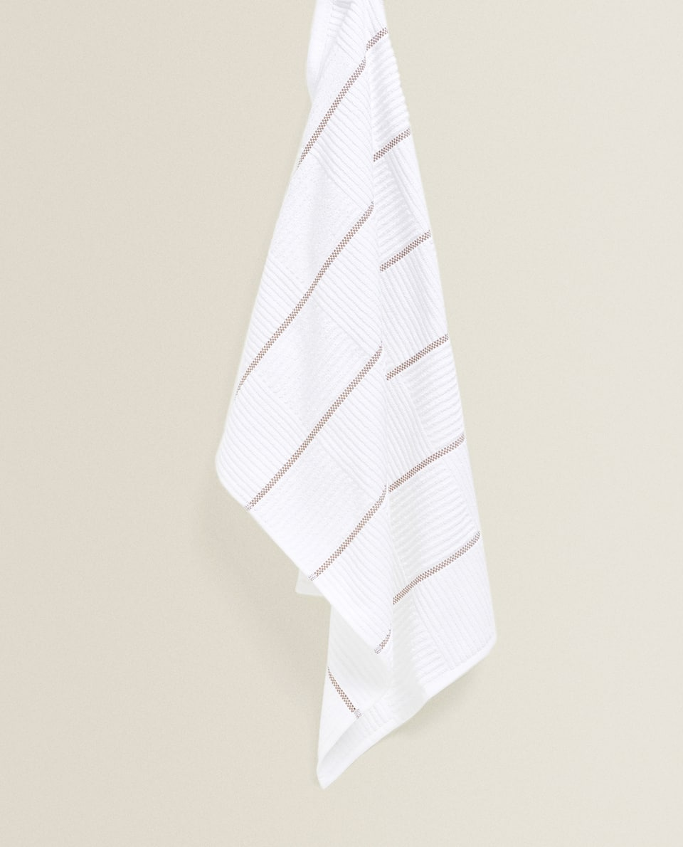 COTTON TERRYCLOTH TEA TOWEL