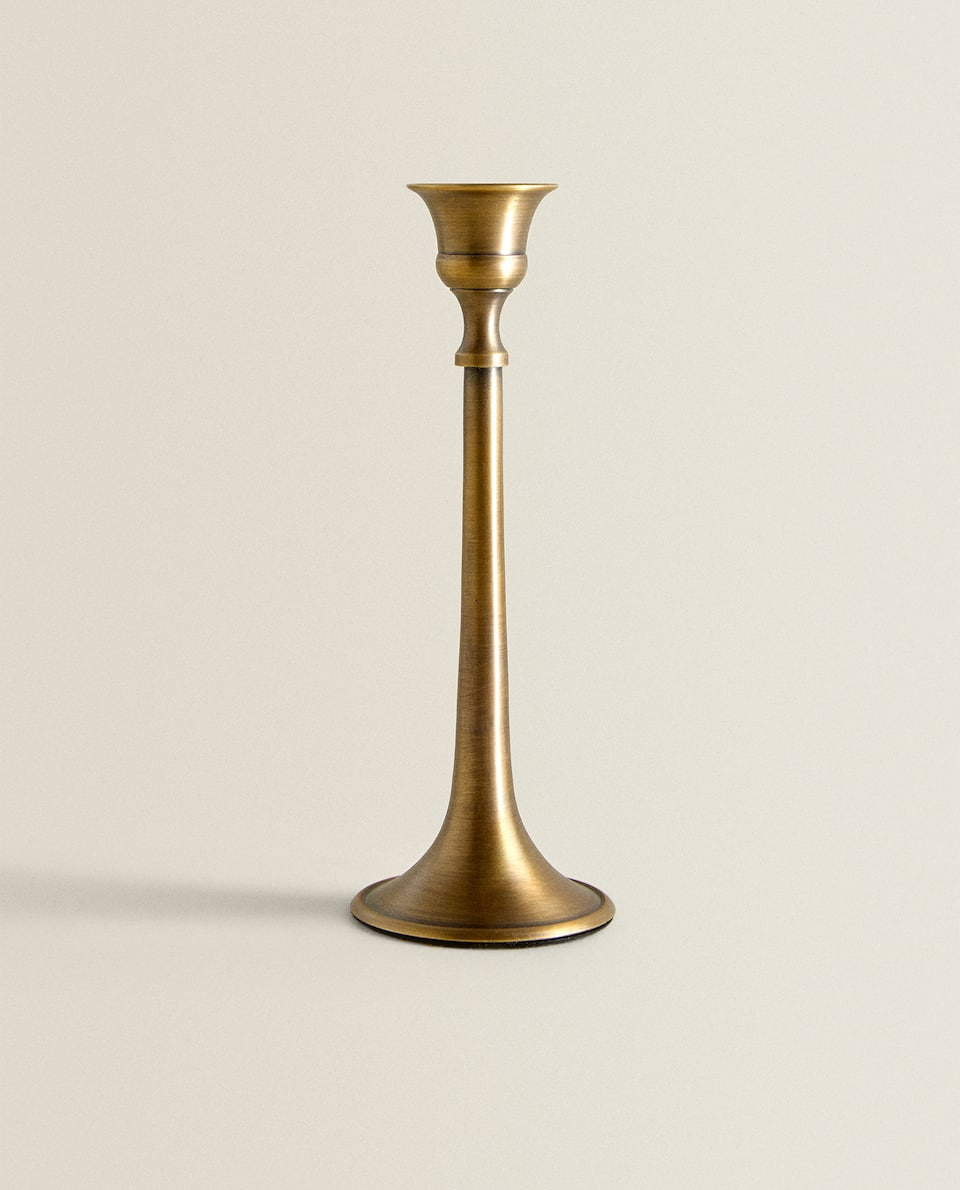OLD GOLD CANDLESTICK
