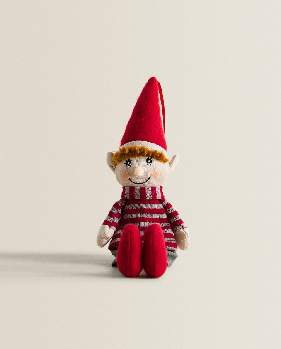 LITTLE BOY ELF DECORATIVE FIGURE