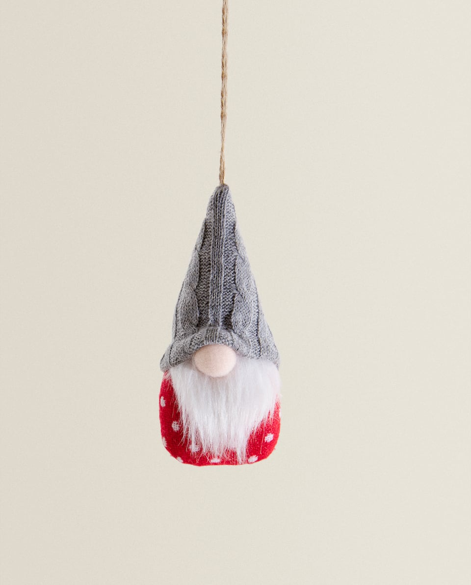 GNOME CHRISTMAS TREE DECORATION