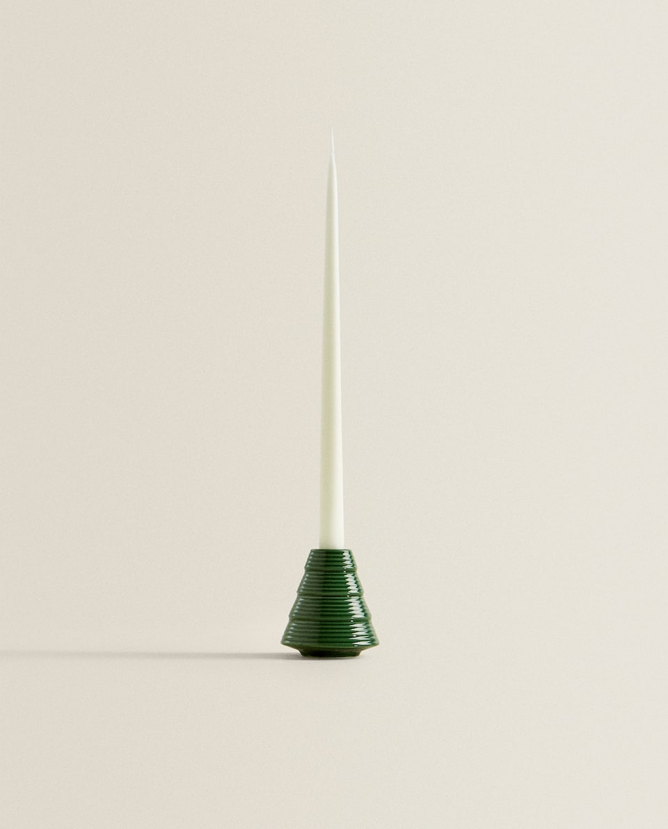 TREE-SHAPED CANDLESTICK