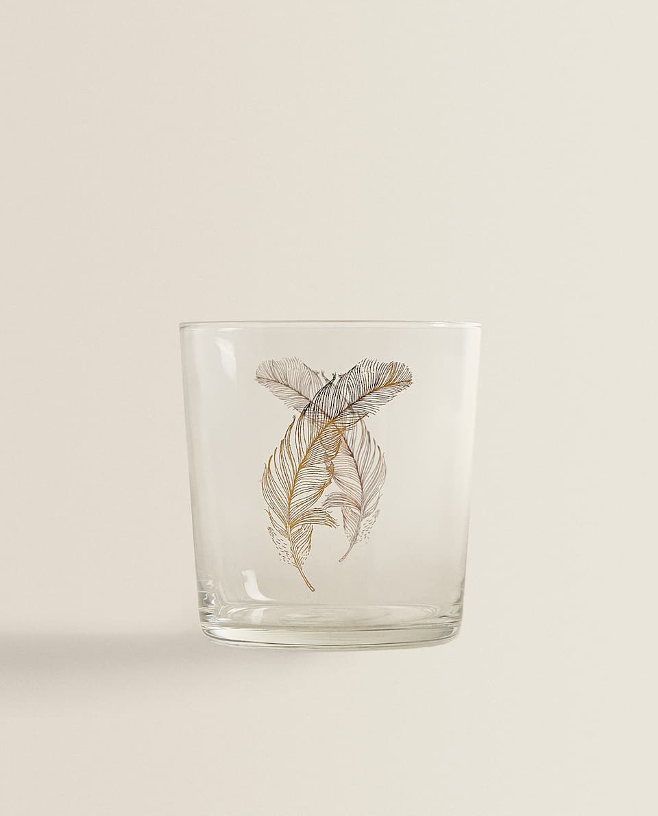 FEATHER TRANSFER TUMBLER