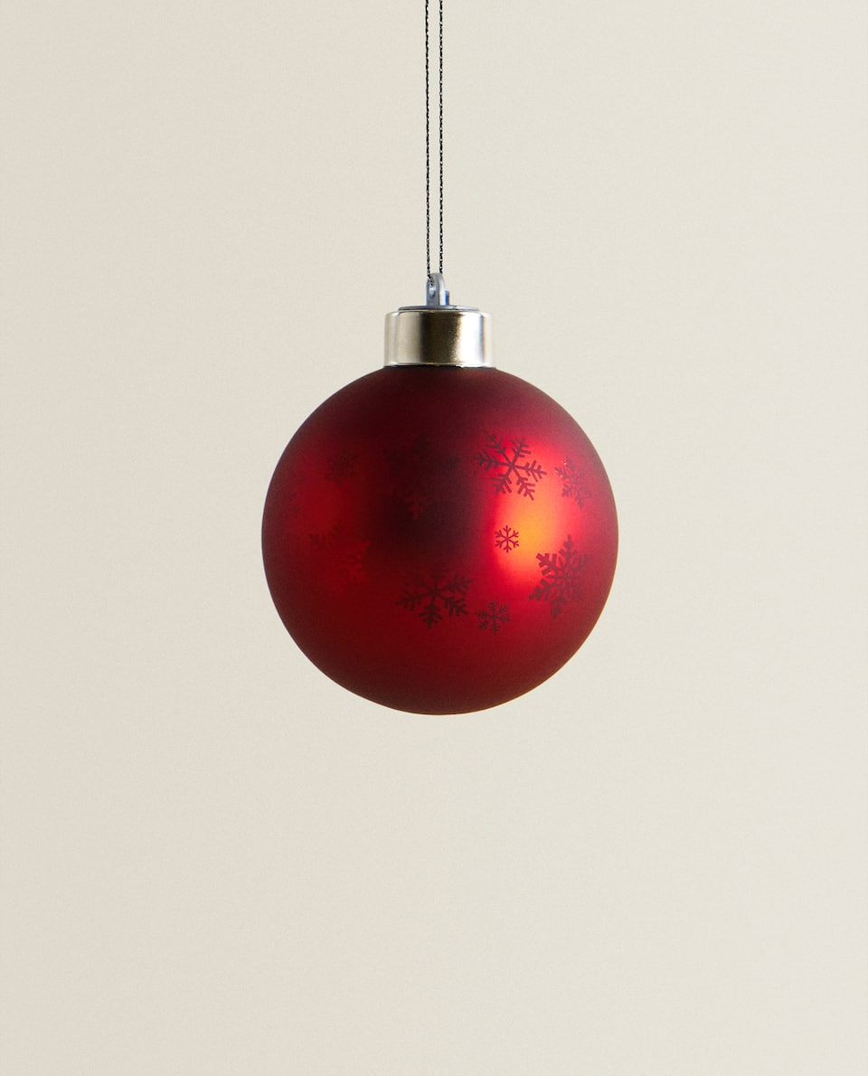 CRYSTAL AND LIGHT BAUBLE