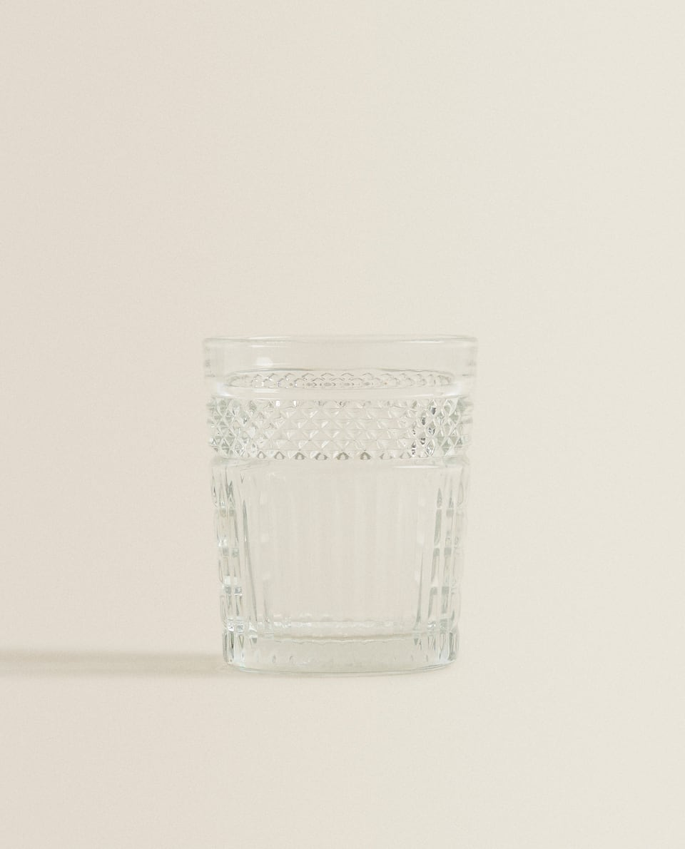 VASO RELIEVE VIDRIO