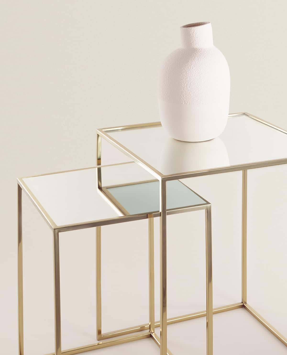 mirrored-nesting-tables-(set-of-2)--furniture---bedroom by zara-home