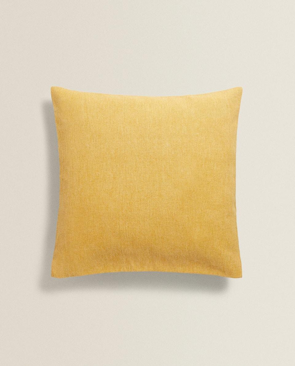 غطاء وسادة من القطن السلس