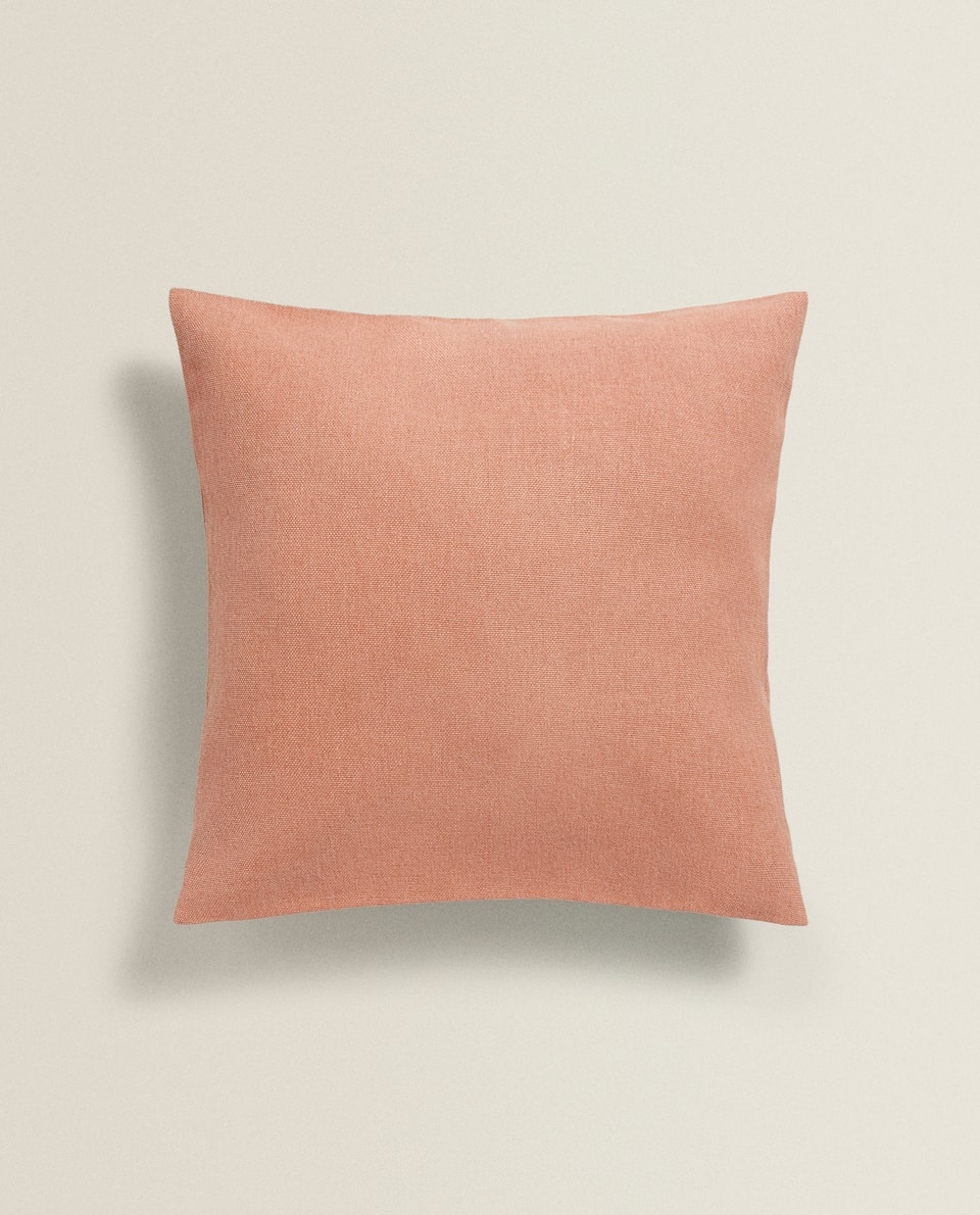PLAIN COTTON CUSHION COVER