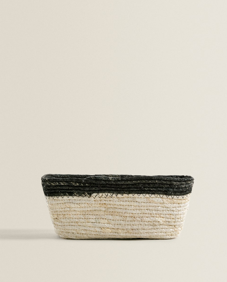 BLACK BORDER MAIZE BASKET