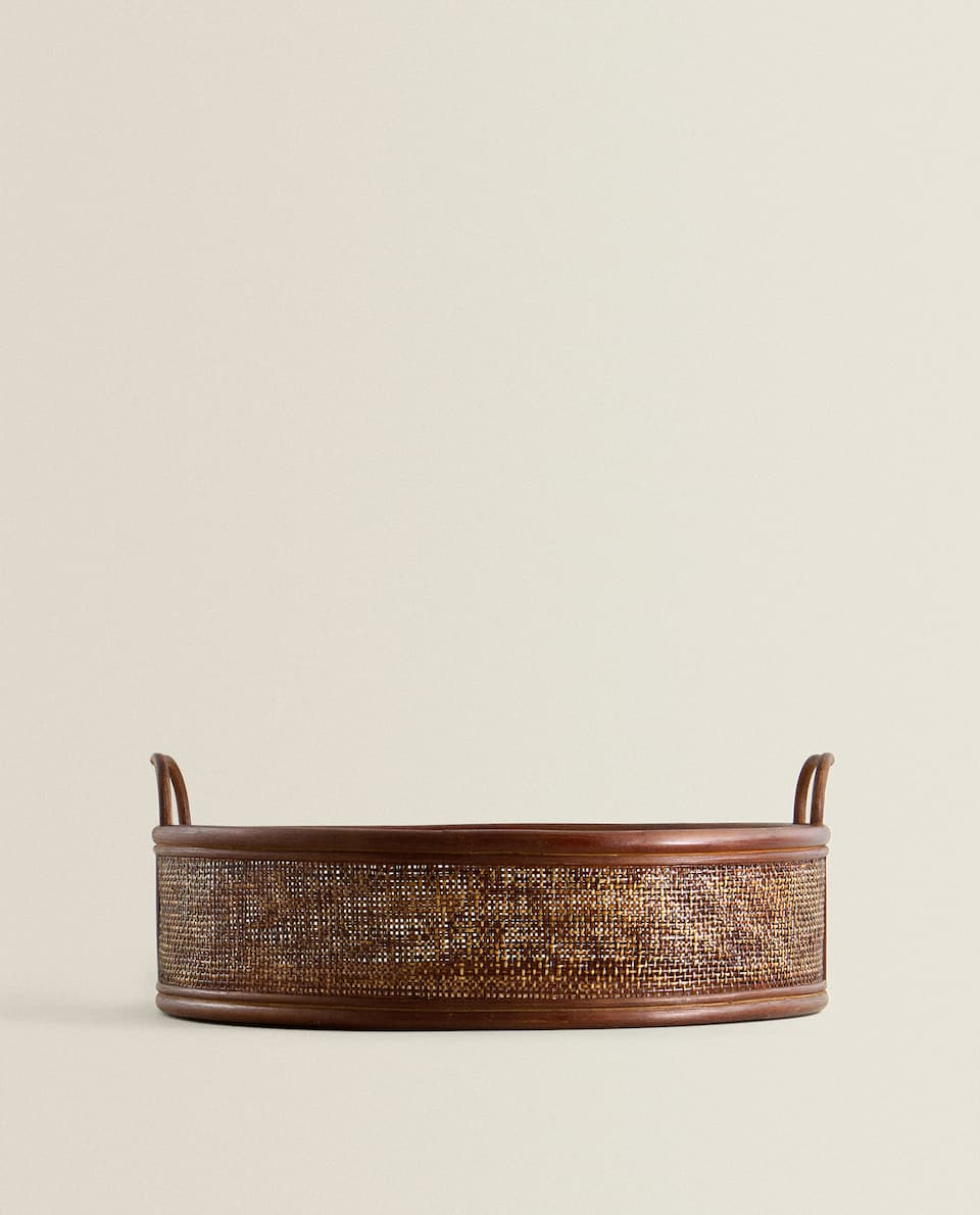 RATTAN BASKET/TRAY