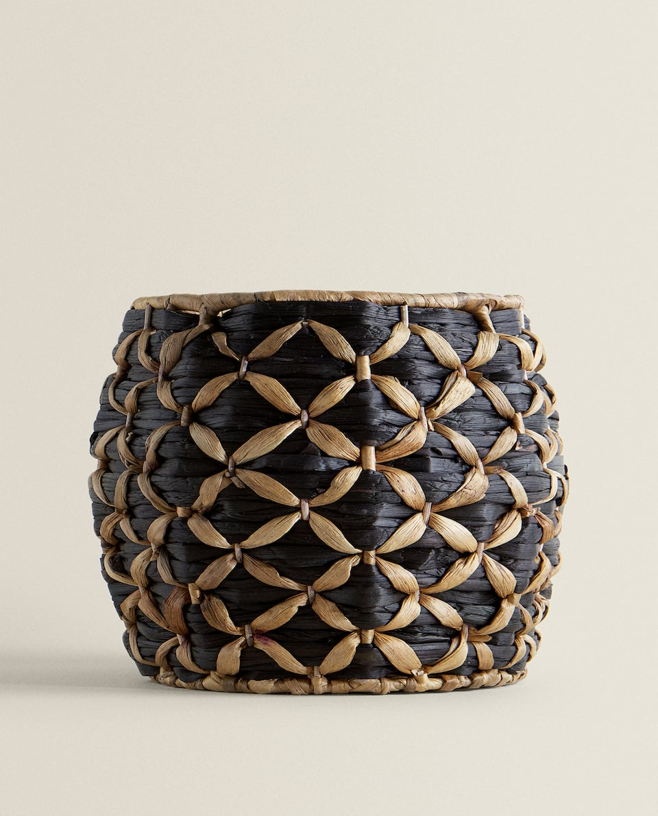 TWO-TONE FLOWERPOT/BASKET
