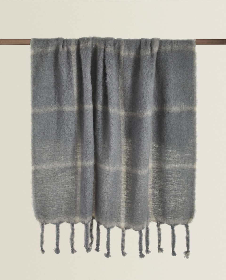 CHECK WOOL BLANKET