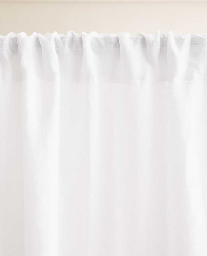 8ec9002d Image of the product WASHED LINEN CURTAIN