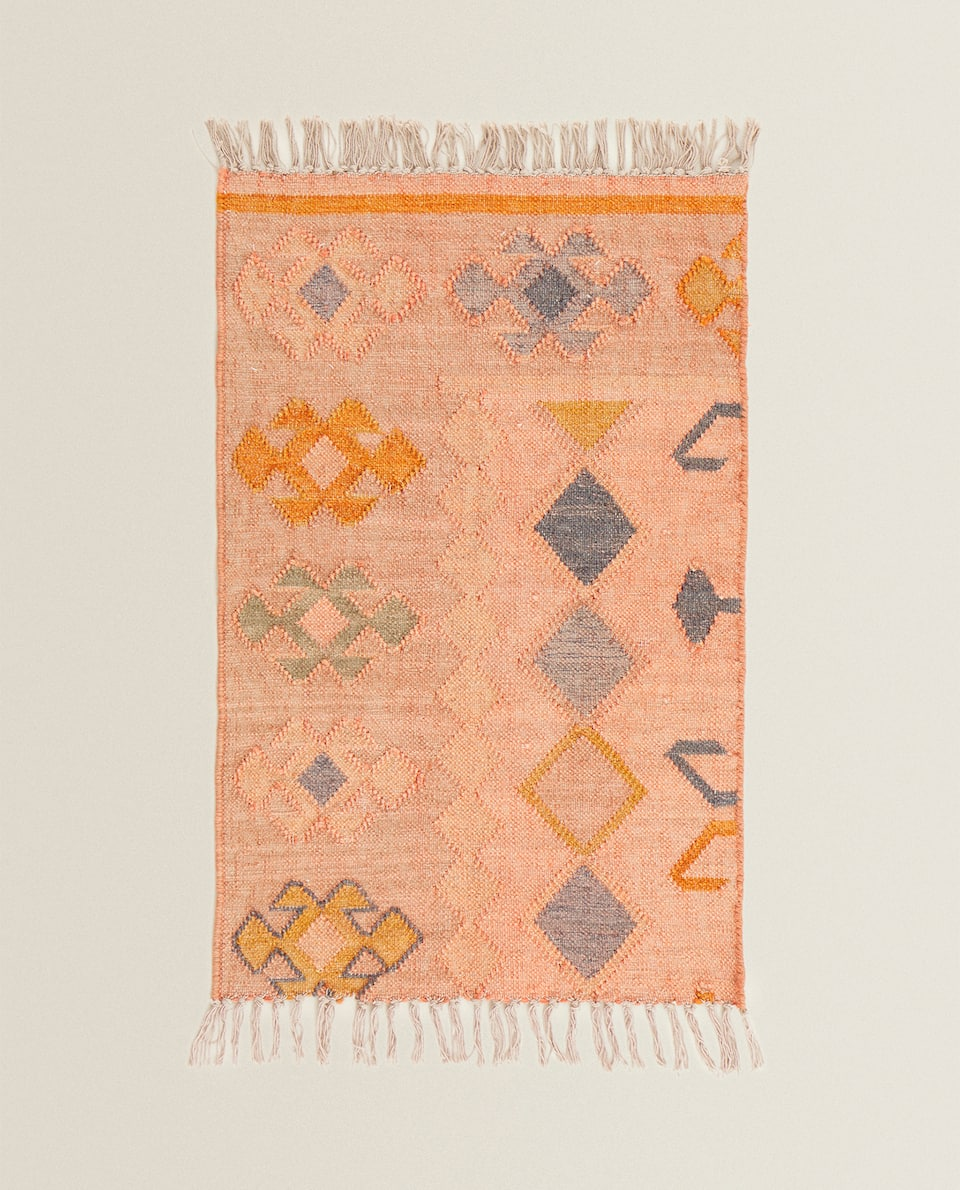 MULTICOLOURED KILIM RUG