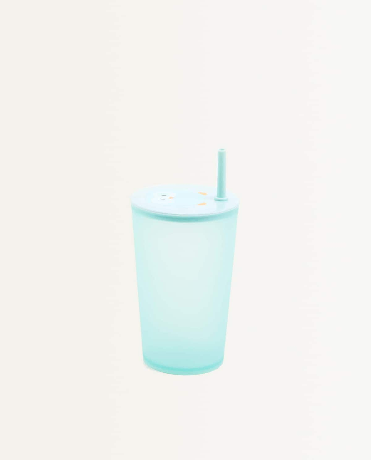 Owl Cup With Lid And Straw  Kids   Mid Season Sale by Zara Home