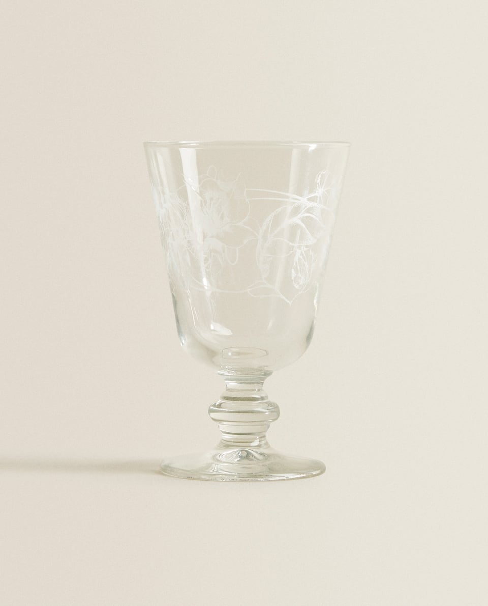 PRINT DESIGN WINE GLASS