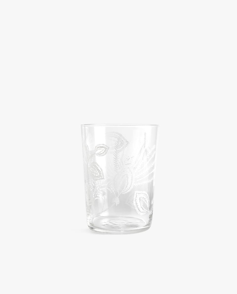 VASO REFRESCO CALCA FLORAL