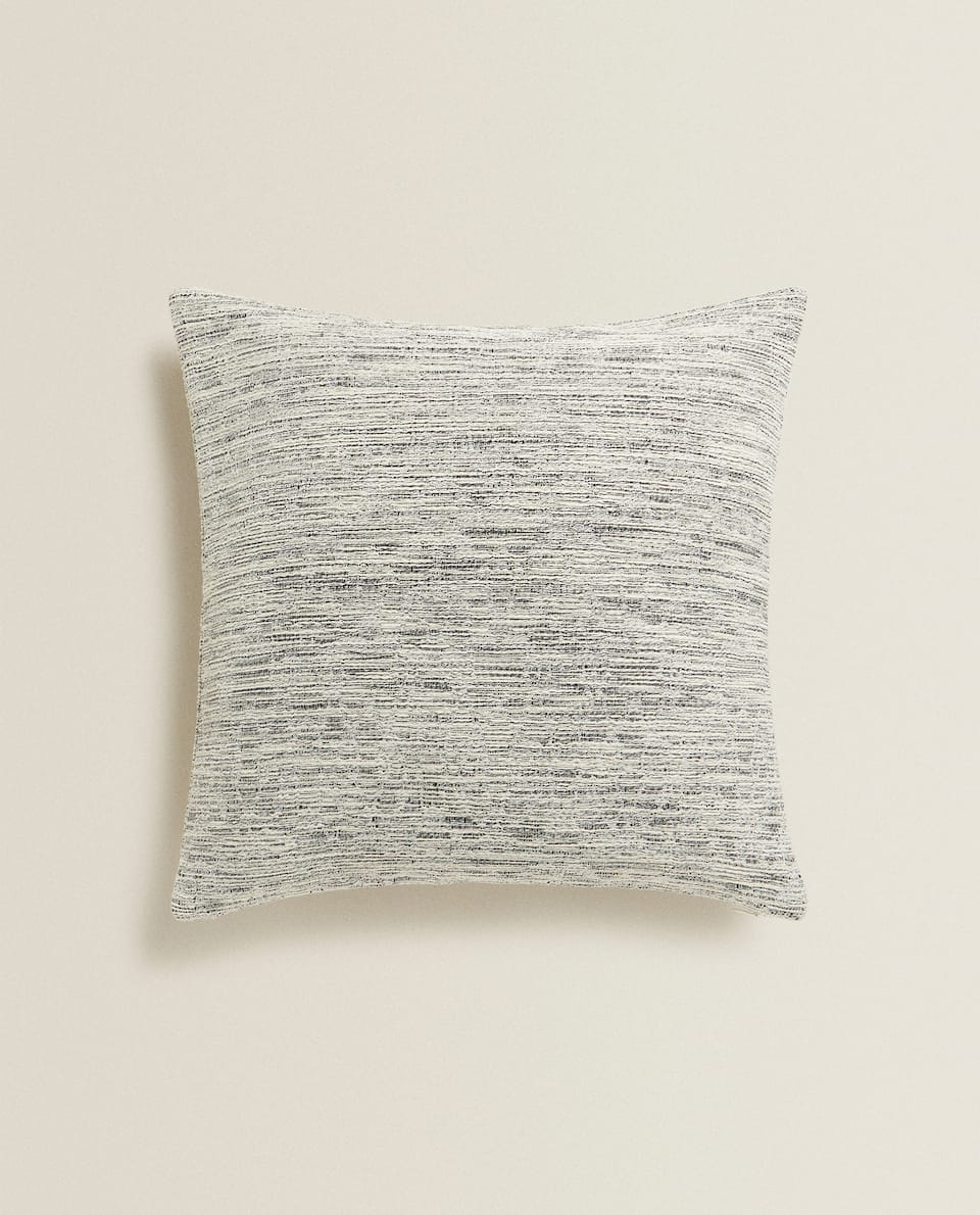 FLECKED COTTON CUSHION COVER