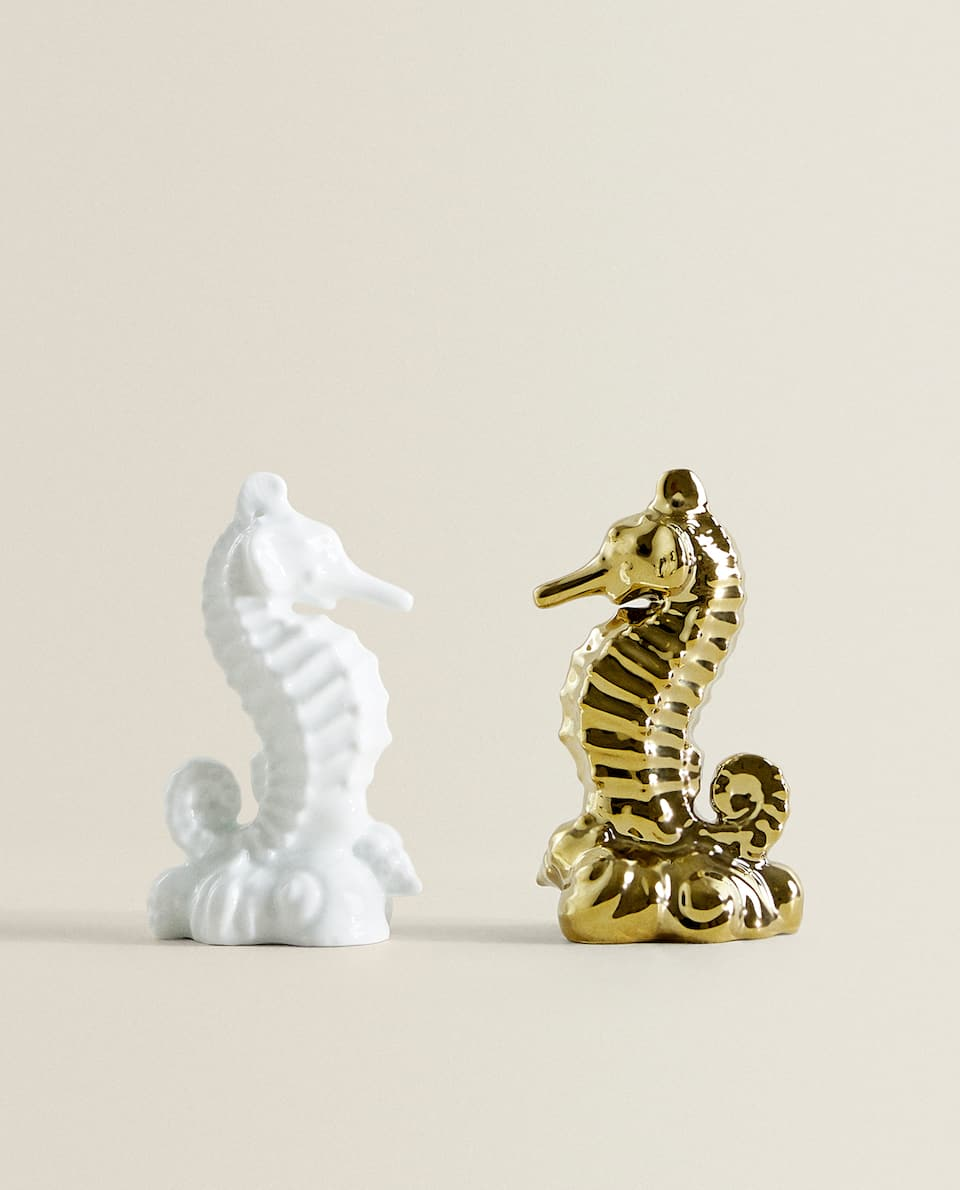SEAHORSE SALT AND PEPPER SHAKERS (SET OF 2)