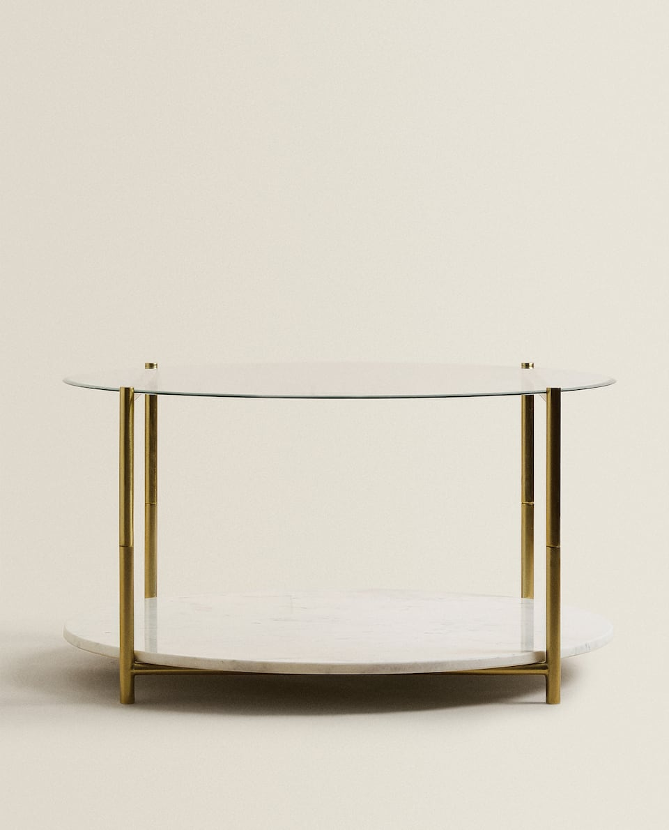 TABLE AT TWO HEIGHTS