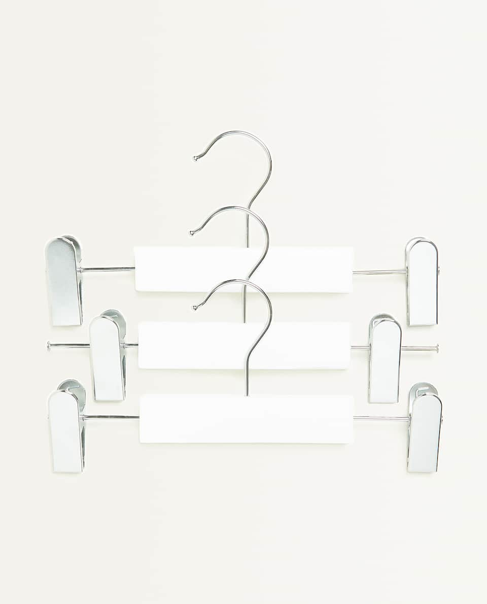 BASIC SKIRT HANGER (SET OF 3)