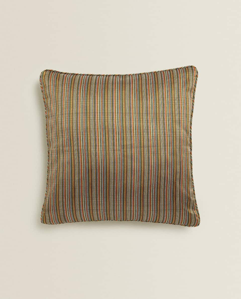 DYED THREAD CUSHION COVER