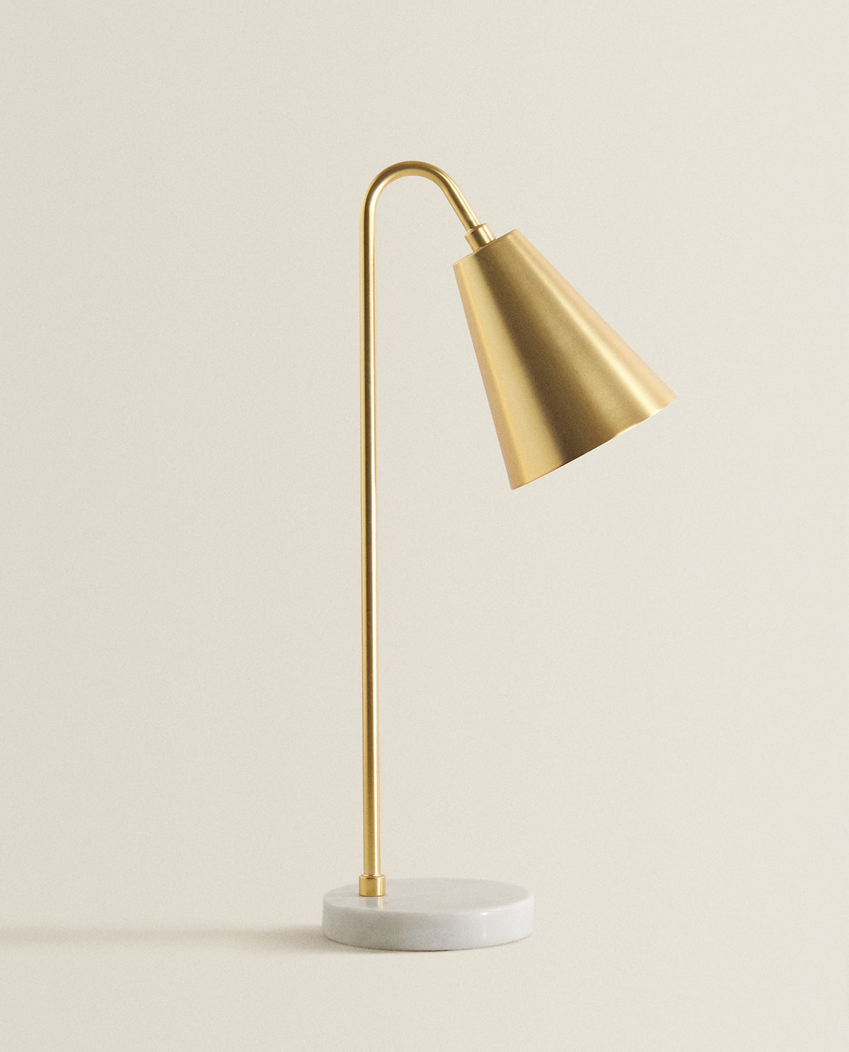 Desk Lamp With Marble Base  Lighting   Living Room by Zara Home