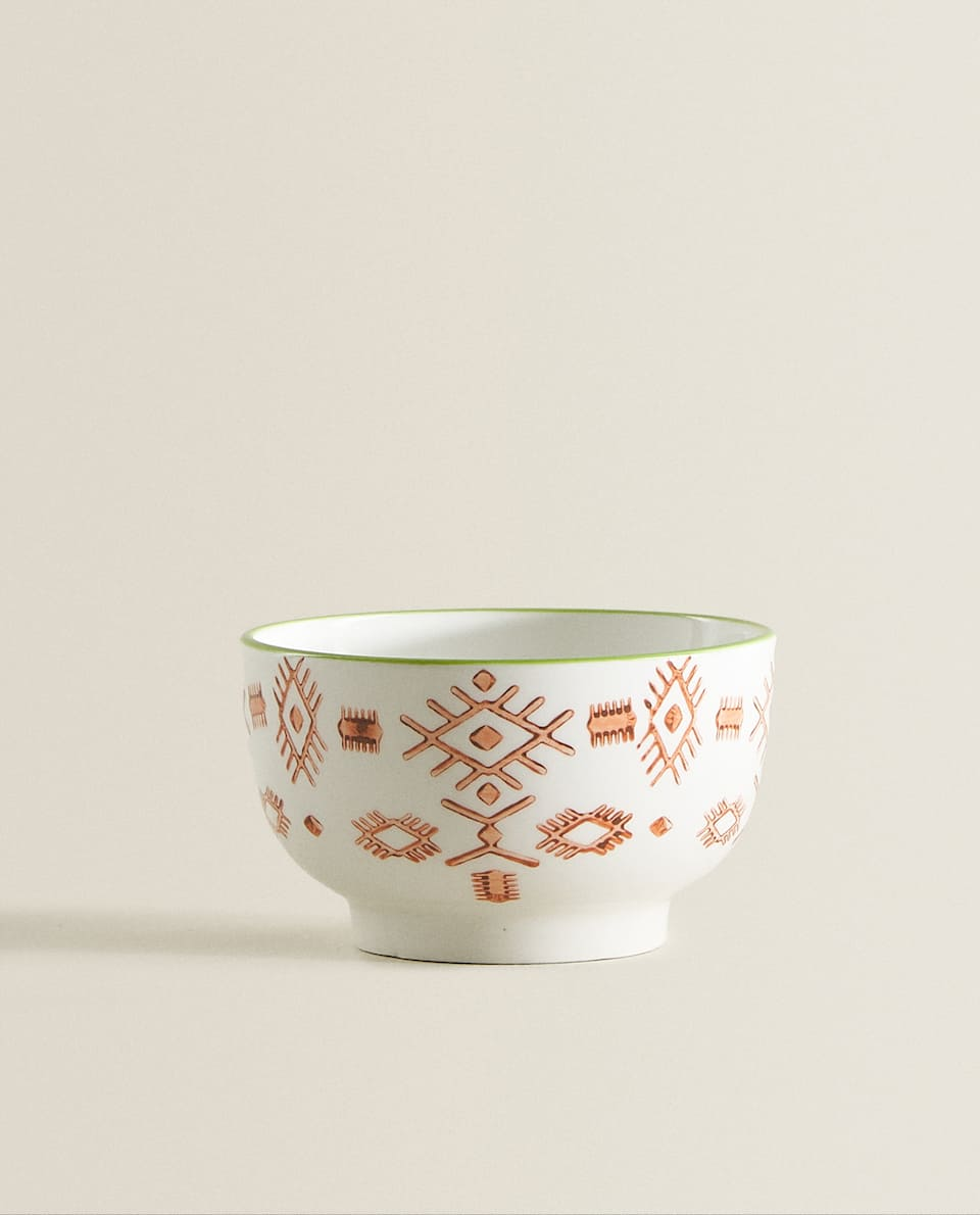 TRIBAL MINI PORCELAIN BOWL