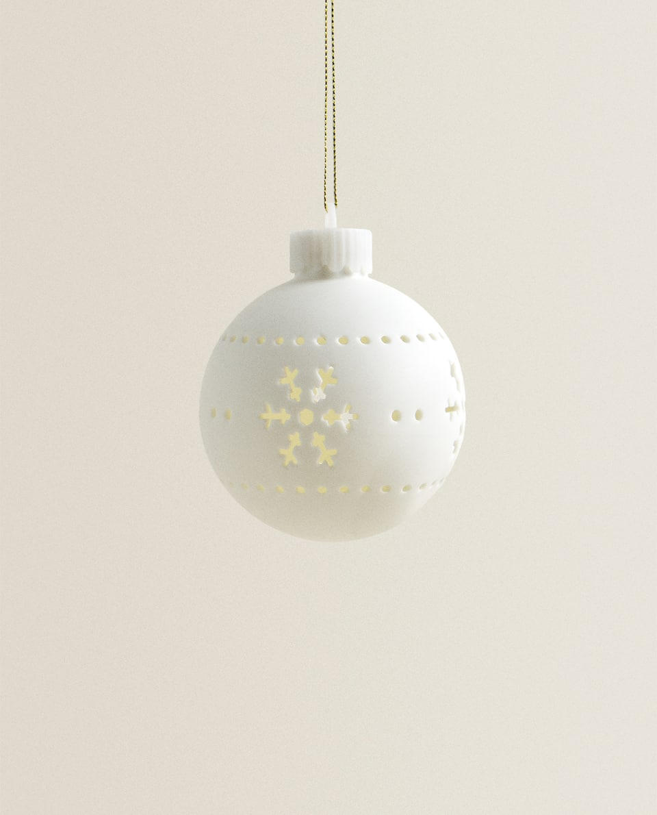 LIGHT-UP BAUBLE