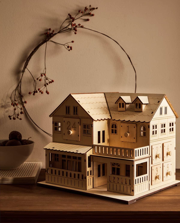 Imagen 7 del producto CALENDARIO DE ADVIENTO CON LUZ Mi colección de navidad preferida