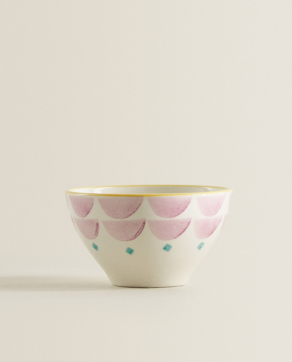PATTERNED EARTHENWARE MINI BOWL