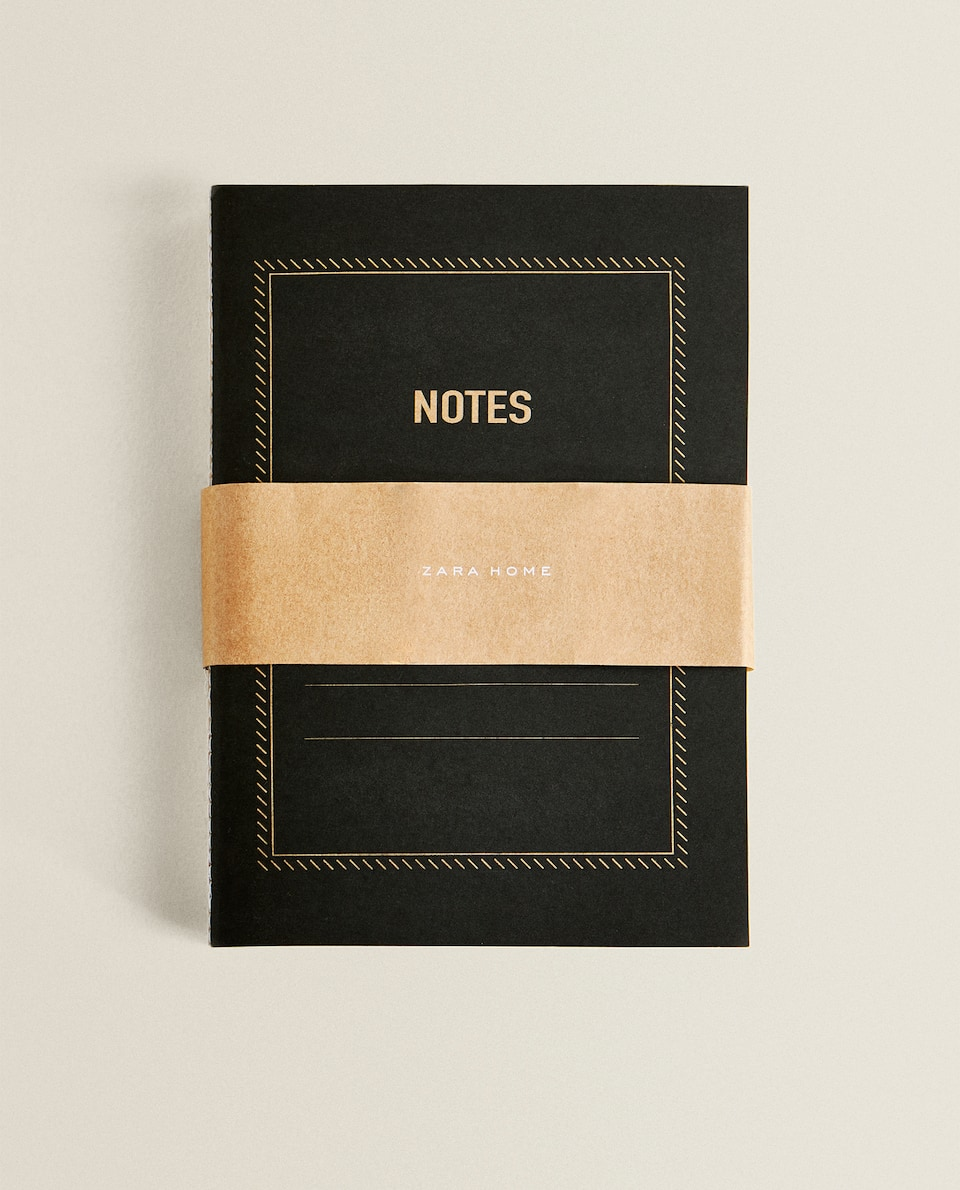 VINTAGE COVER NOTEBOOKS (PACK OF 3)