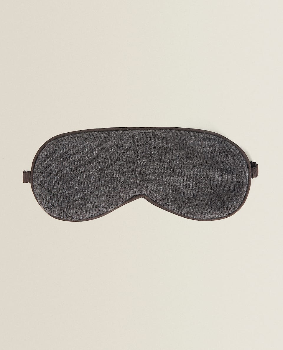 COTTON JERSEY EYE MASK