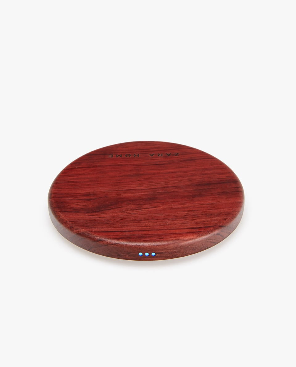 WOOD-EFFECT WIRELESS CHARGER