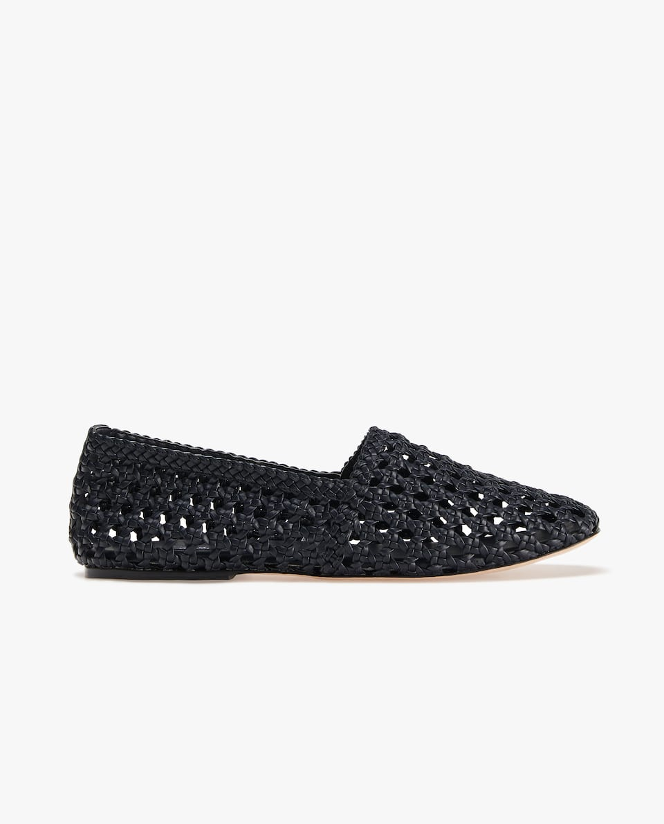 BRAIDED LOAFERS
