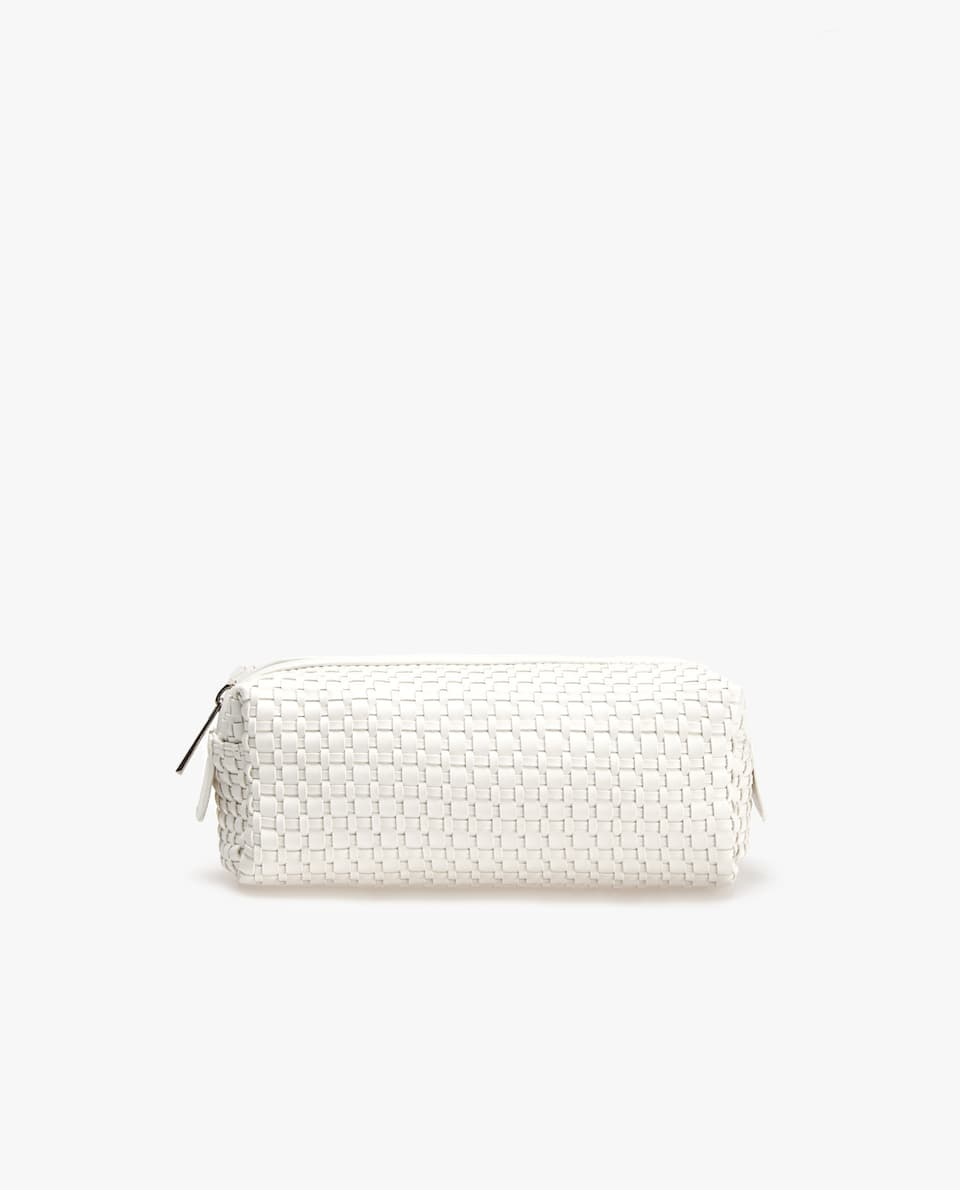 BRAIDED MINI TOILETRY BAG
