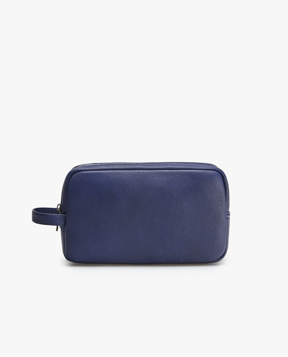 DOUBLE-ZIP TOILETRY BAG