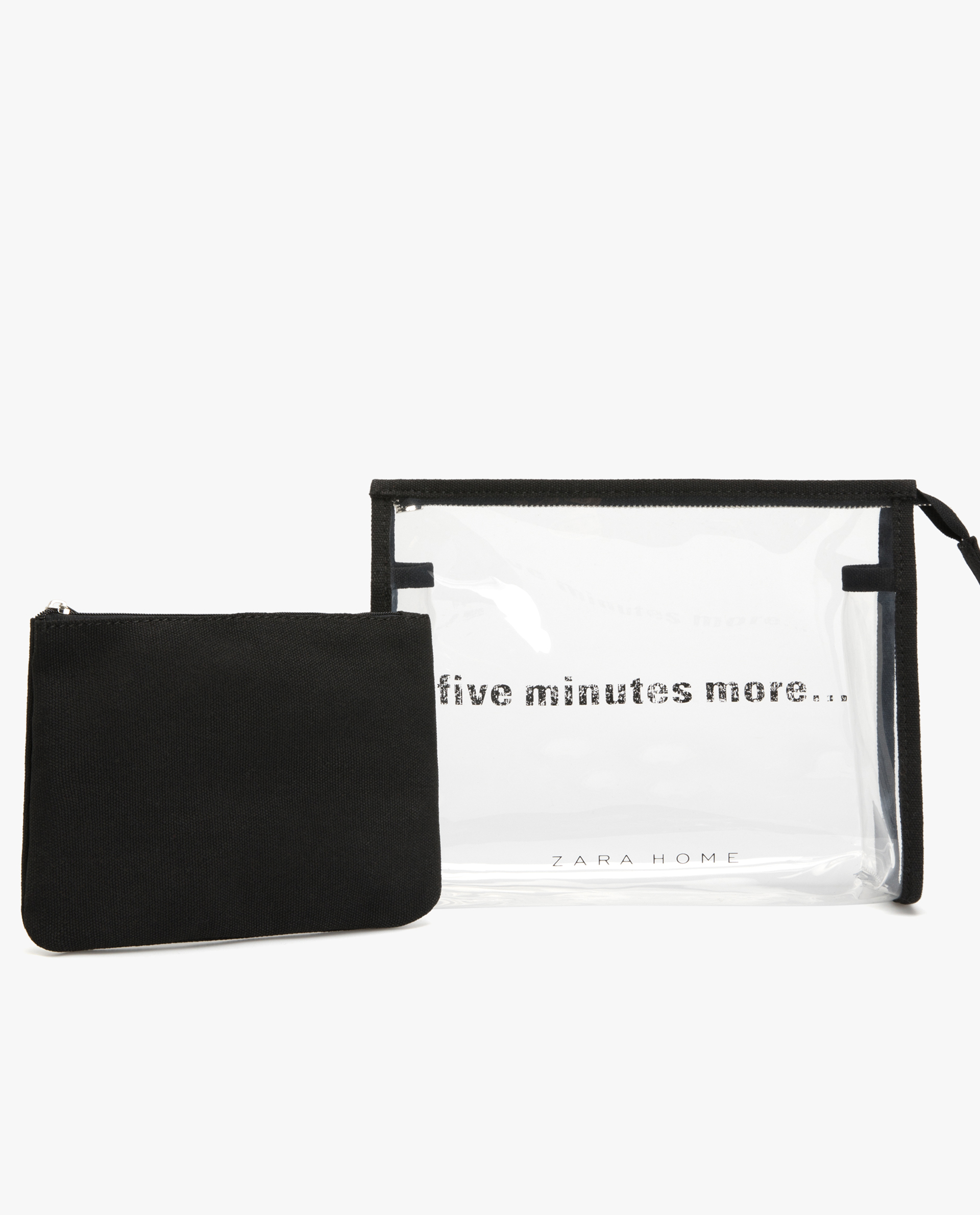 a62cd11deb9962 TRANSPARENT TOILETRY BAG - ACCESSORIES - CLOTHING   FOOTWEAR ...