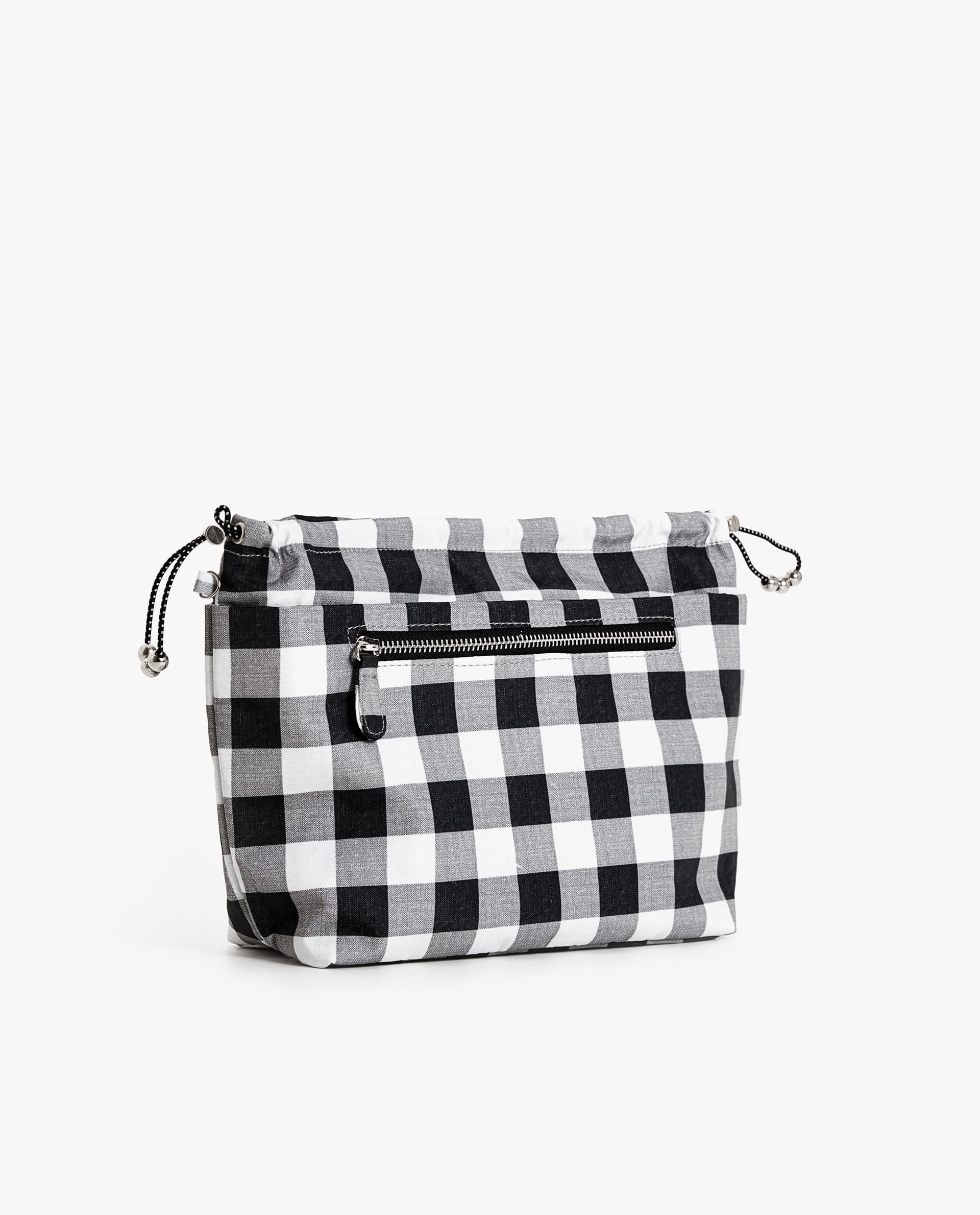 ca9863c781 GINGHAM CHECK HANDBAG ORGANISER - | Zara Home Germany