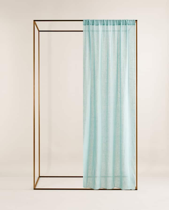 0cc03858 Image of the product SHEER LINEN CURTAIN